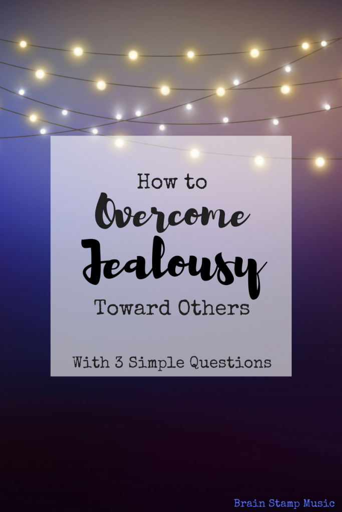 Conquer your jealousy with 3 questions!