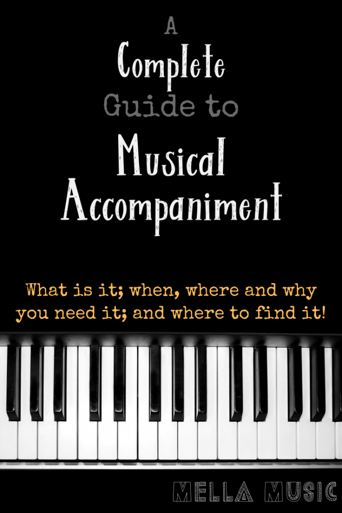 Piano and Musical Accompaniment, a Complete Guide