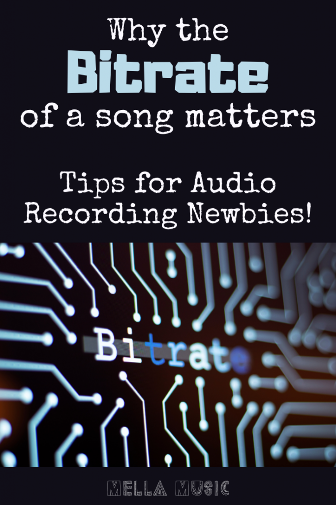 Important Bitrate Tips for Audio Recording