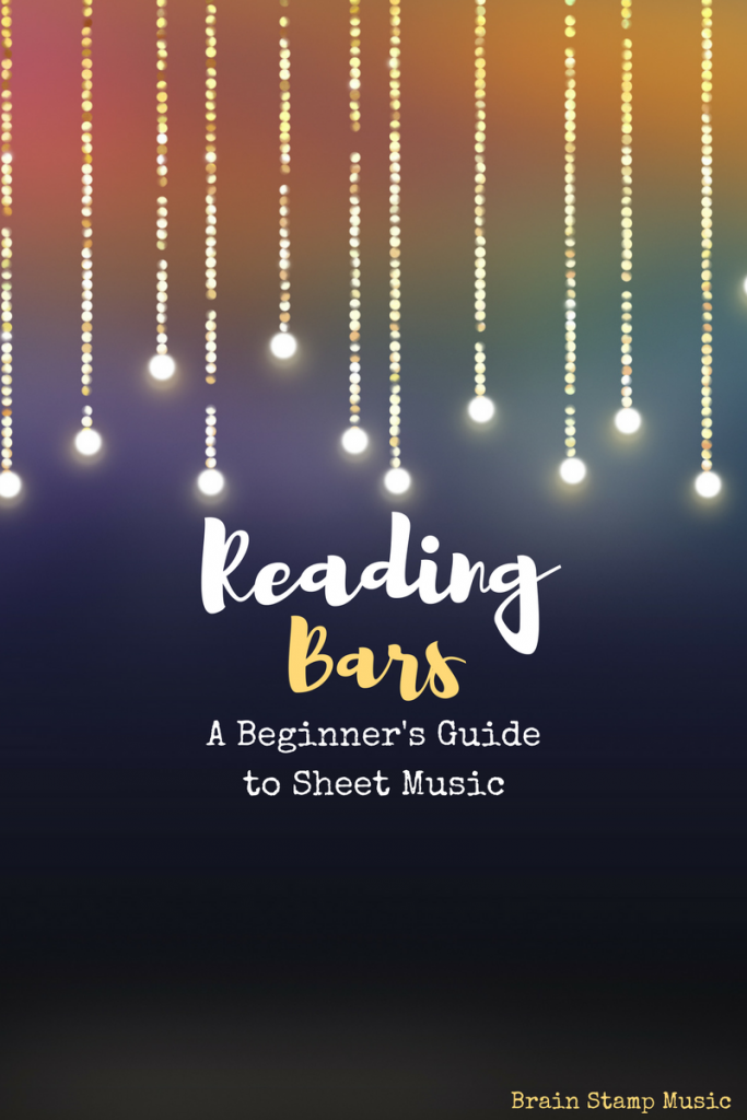 An easy way to read bars in sheet music!
