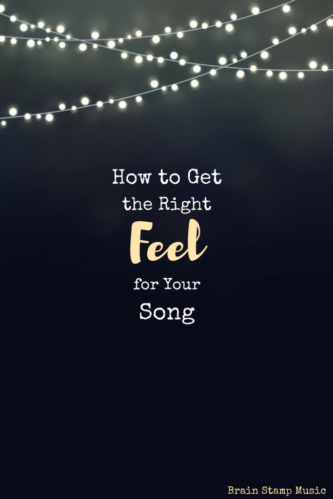 "Call it style, call it energy, call it whatever you want. You know when your song ""feels"" right and when it doesn't. Here's how to knock it out of the park and get your audience to feel what you feel!"