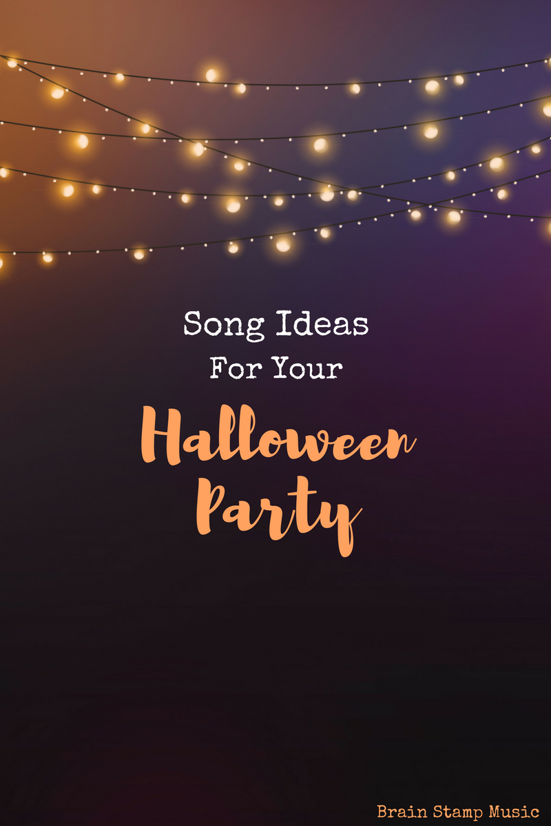 Song Ideas For Your Halloween Party – Mella Music