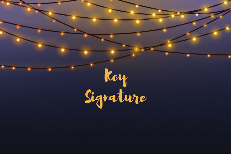 A simple explanation of Key Signatures