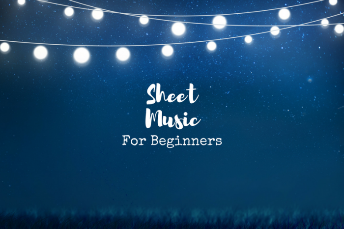 Simple tips to read sheet music