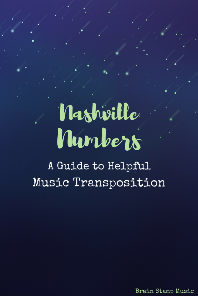Simple steps to learning the Nashville Numbers system