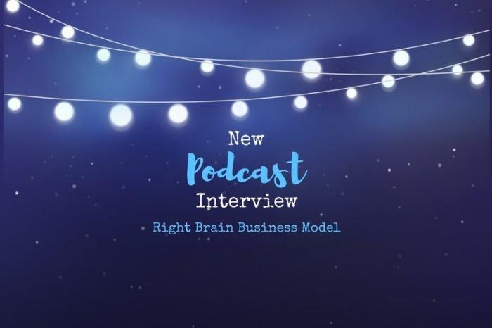 New Podcast Interview Right Brain Business Model Mella Barnes