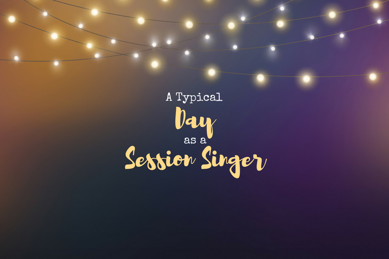 A day in the life of a session singer