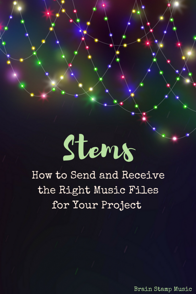 How to send stems, files, or tracks easily between musicians in a recording project!
