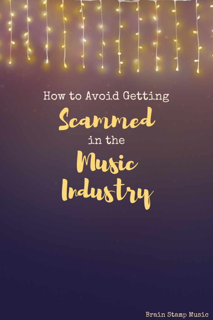 The road to music success has MANY detours and setbacks. Don't let yourself fall victim to a scam! Here are some easy tips to avoid being scammed.