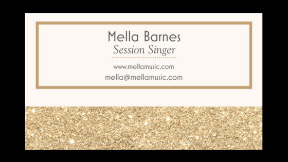 Why every musician should have business cards mella music heres what mine look like i change them up every so often colourmoves