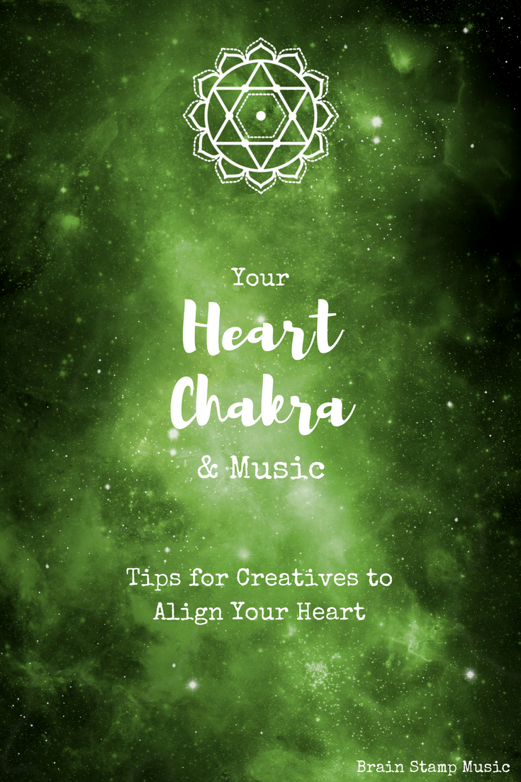 Tips for creatives to align and heal your heart chakra