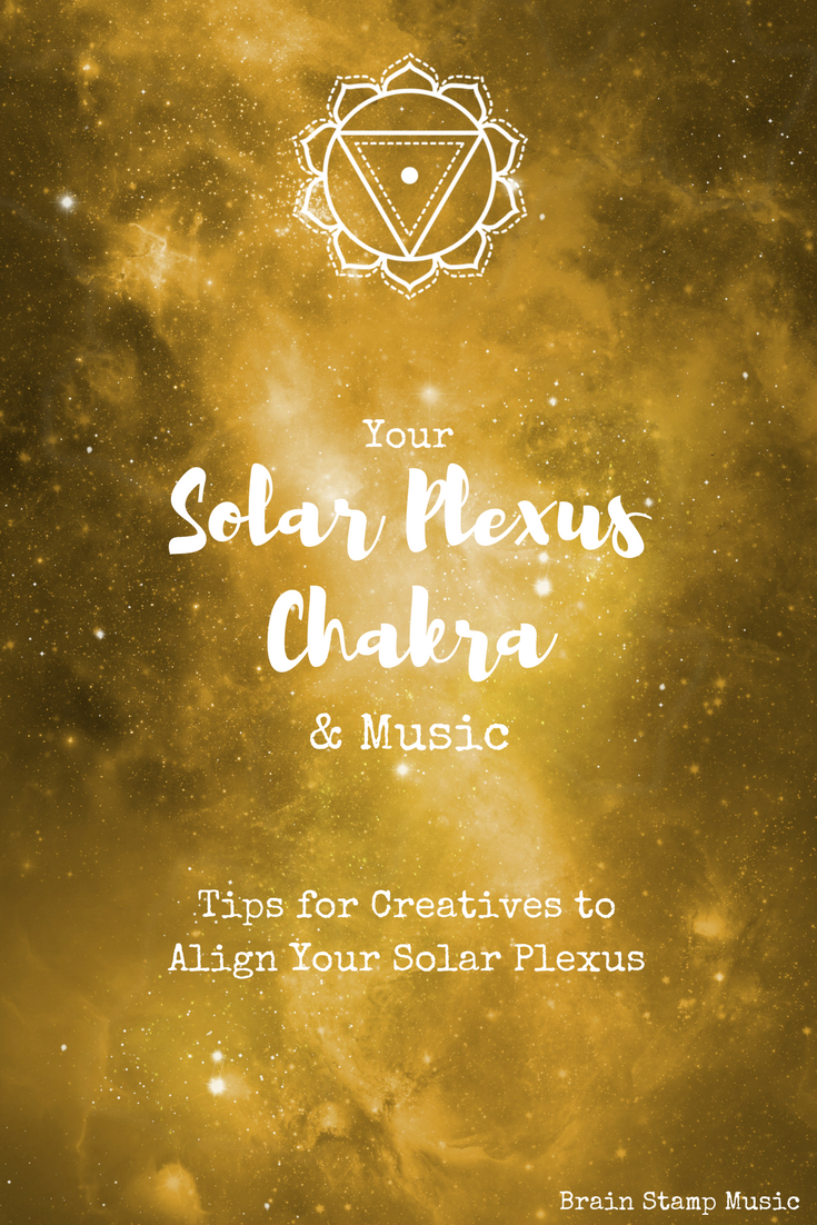 Quick tips for Creatives to align the Solar Plexus Chakra, plus free worksheets for each chakra