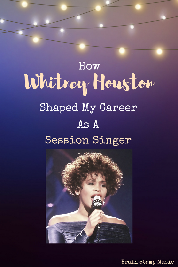 how whitney houston shaped my career as a session singer. Black Bedroom Furniture Sets. Home Design Ideas