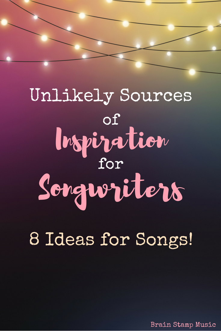 Stuck on song ideas? Here are great sources for inspiration!