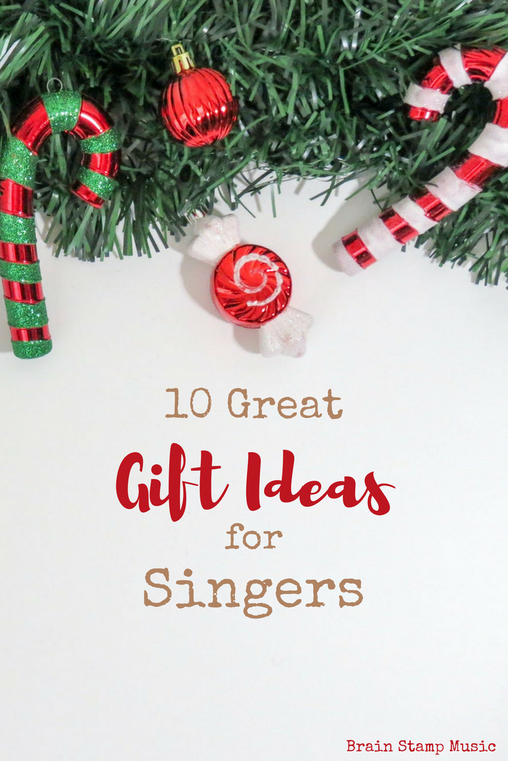 10 Gift Ideas for the Singer in Your Life!