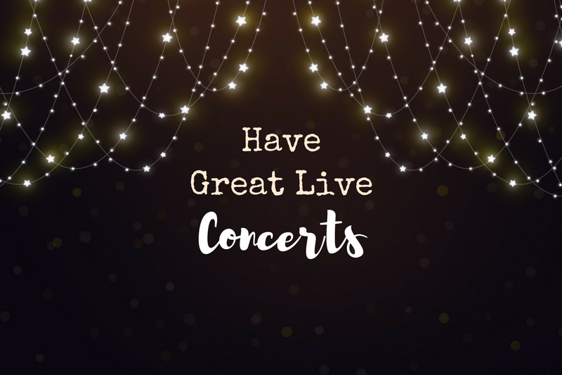 7 Ideas for Exciting Concerts