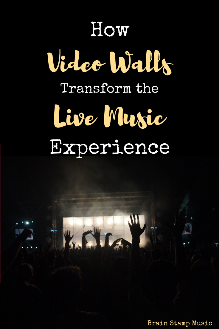 How Artists Can Use Video Walls for a Better Concert!