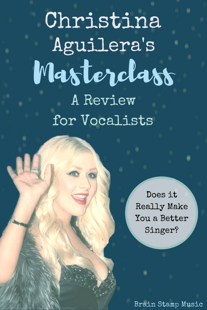 We took Christina's MasterClass. Find out if it will make you a better singer!