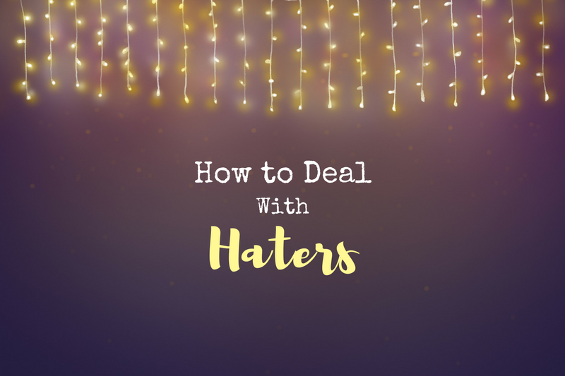 Here's how to process and move on from haters of your creative work!