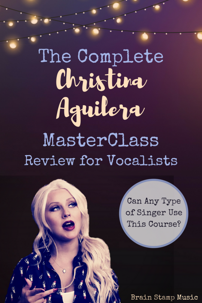 A Complete Review of Christina Aguilera's MasterClass for Singers!