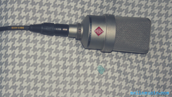 I tried Blue Topaz Crystal Therapy for Vocalists and Singers