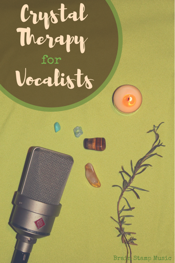 Interview with crystals expert Melissa Crowhurst on how to use crystals for vocalists