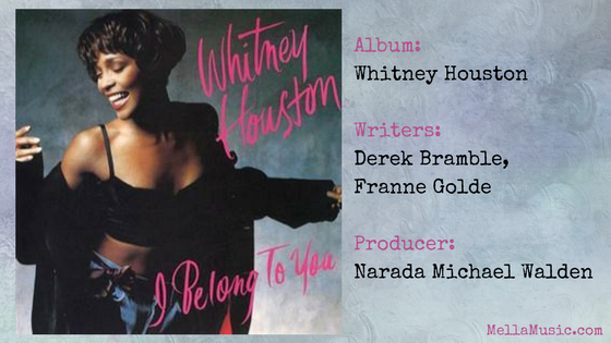 I Belong to You - Whitney Houston single