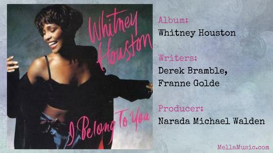 I Belong to You - Whitney Houston single
