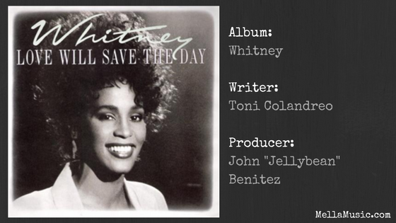 Whitney Houston Single - Love Will Save The Day