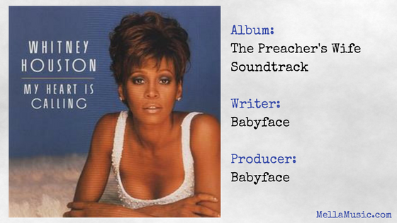My Heart is Calling - Whitney Houston Single