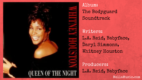 Queen of the Night - Whitney Houston single