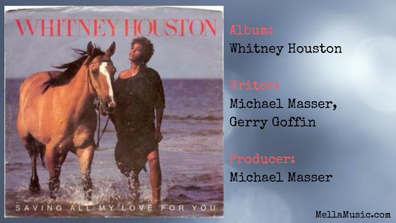 Saving All My Love For You - Whitney Houston Single