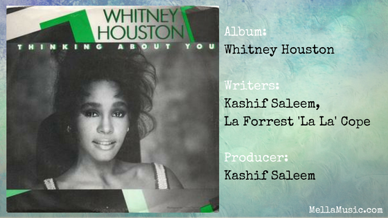 Thinking About You - Single by Whitney Houston