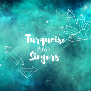 I Tried Turquoise Crystal Therapy to Improve My Singing