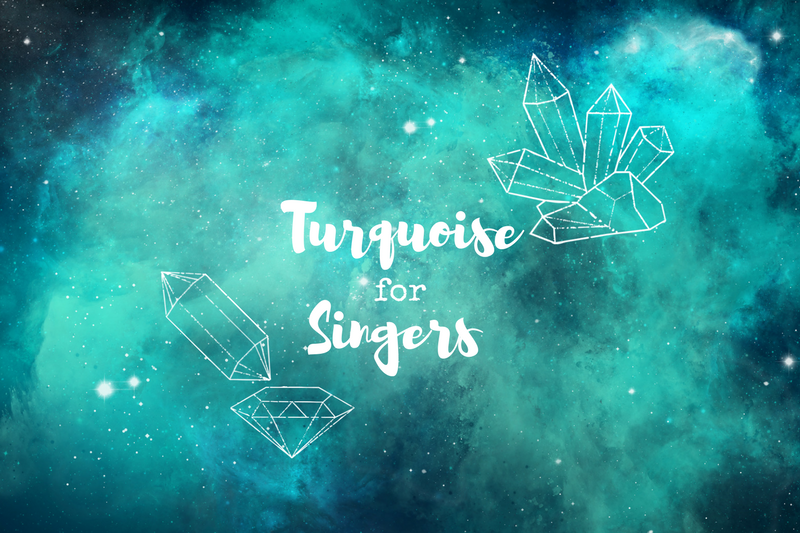 Trying Turquoise Crystal Therapy for Singers