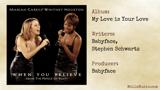 When You Believe by Whitney Houston and Mariah Carey - Single - All of Whitney Houston's songs ranked