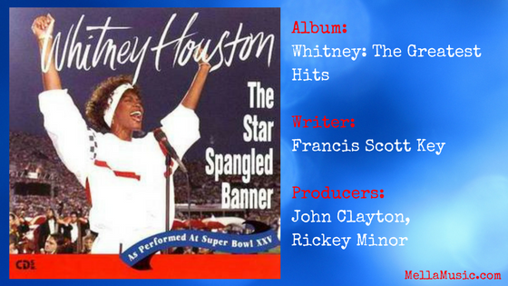 Whitney Houston - The Star Spangled Banner Single