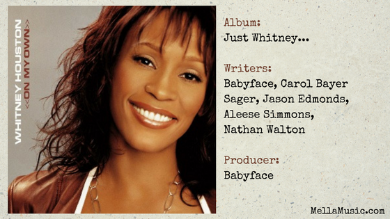 Try It On My Own single - Whitney Houston Songs ranked
