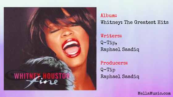 Fine single by Whitney Houston