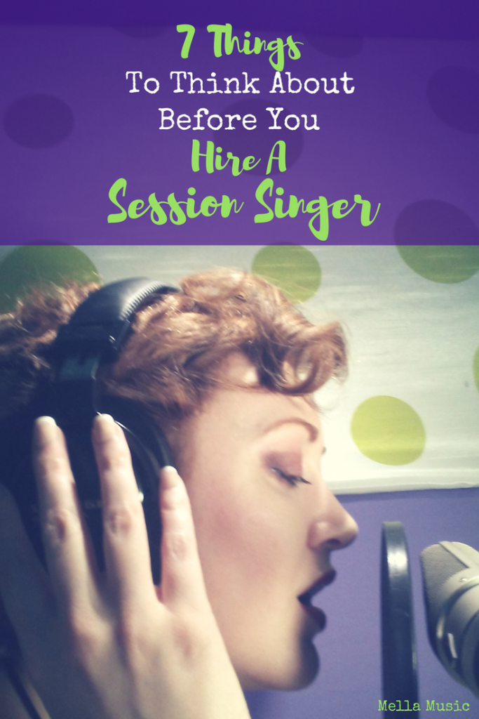Ready to Hire a Session Singer? Ask Yourself These Questions First!