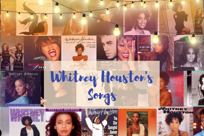 All 133 Of Whitney Houston S Songs Ranked From Worst To Best Mella Music That's why i believe above a storm the smallest prayer can still be heard i believe that someone in the great somewhere hears every word. all 133 of whitney houston s songs