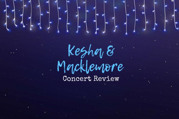 A recap of the Kesha/Macklemore show!