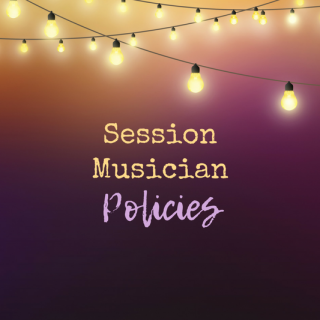 6 Important Policies for Session Musicians