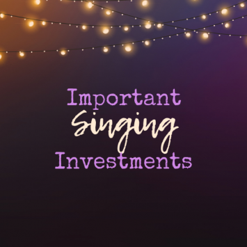 Important Investments That All Session Singers Should Make
