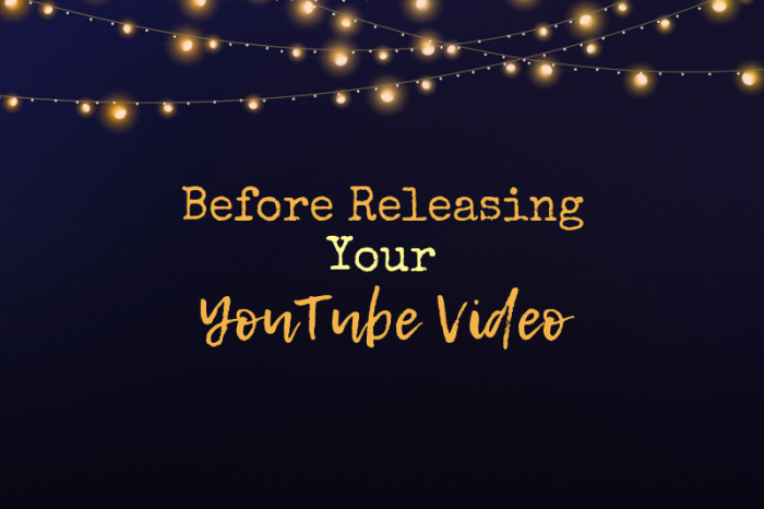 STOP! Before you upload that YouTube video, do these 5 things FIRST!