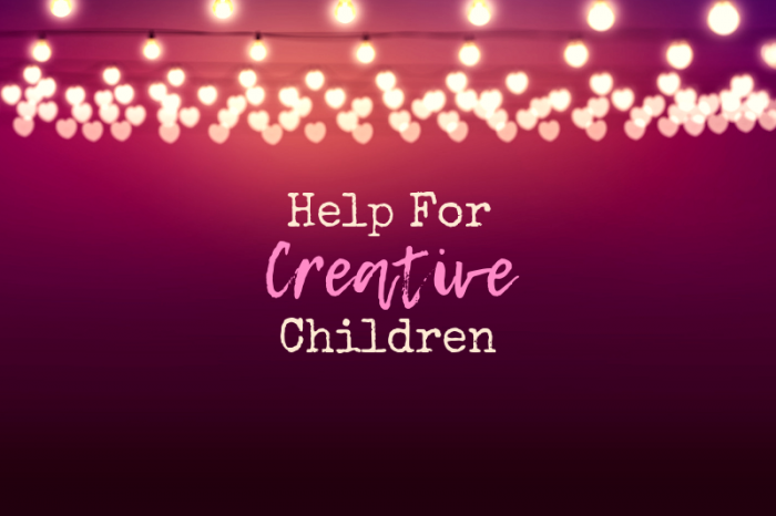 Important Tips to Help Creative Children in School
