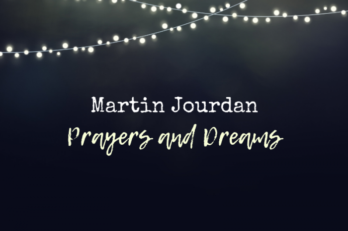 "Martin Jourdan's new album ""Prayers and Dreams"""