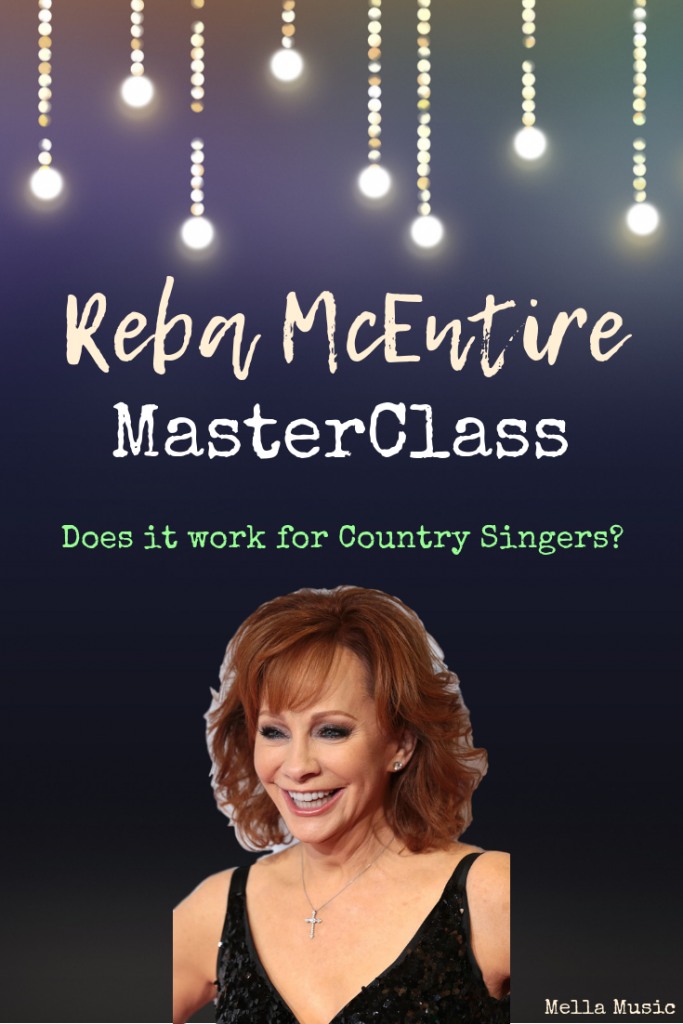 Does the Reba McEntire MasterClass review really help #singers and #songwriters? Find out here!