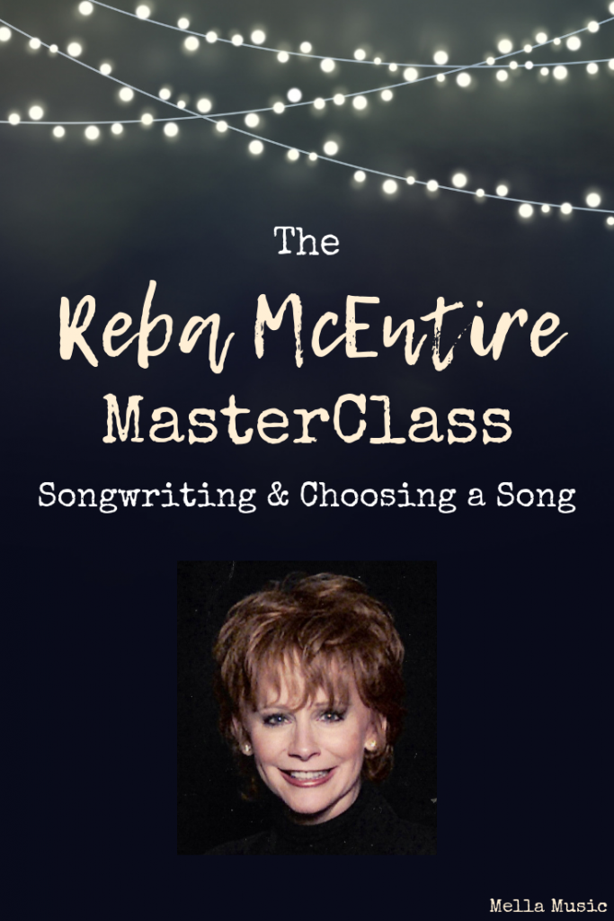 The Reba McEntire MasterClass Lesson About Songwriting and Choosing Songs to Sing