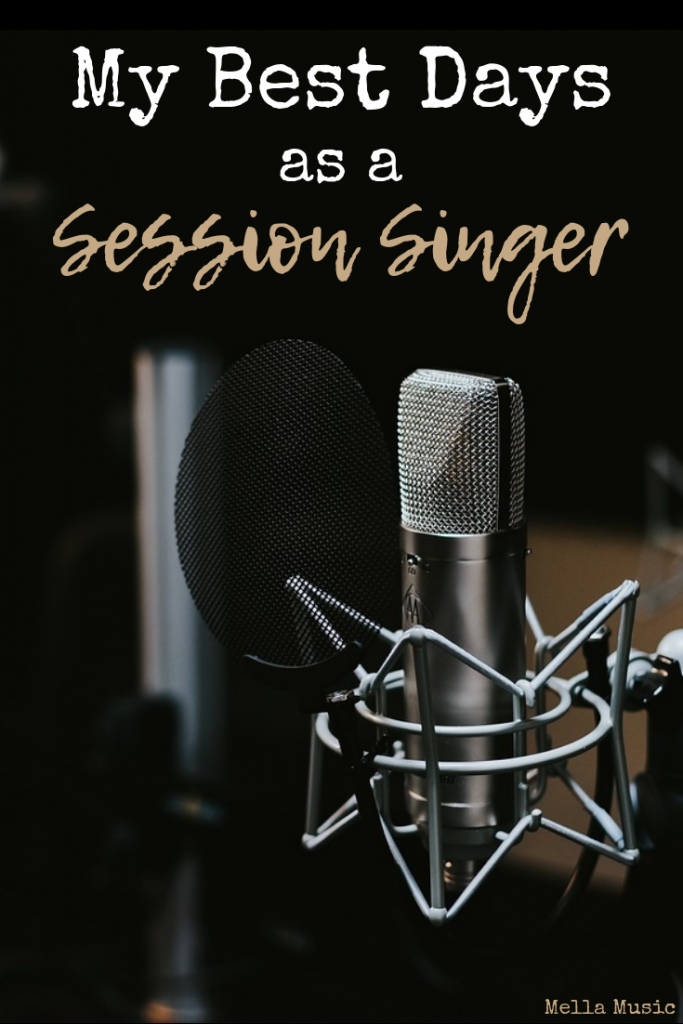 The Best Days as a Session Singer
